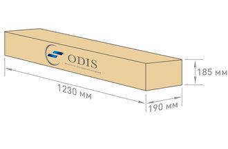Габариты упаковки светильника OS-ARMSTRONG X2-80